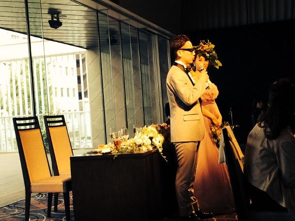美容学生時代の友人の結婚式に出席