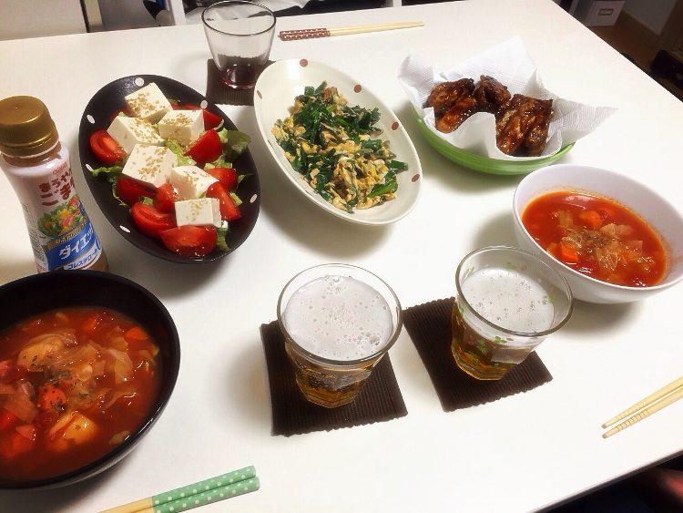 友達のお家で ご飯会