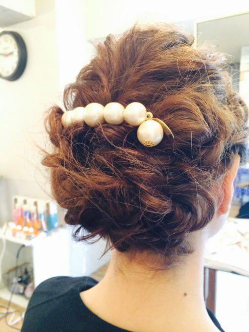 福岡市天神・大名の美容室ロータスヘアーデザインではヘアアレンジもやってます。結婚式へ出席される際、2次会、卒業式などなど