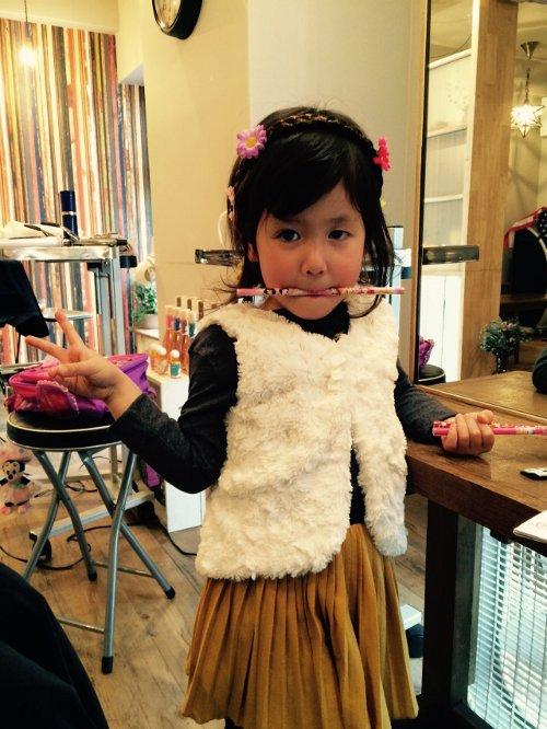 子供達のカットご家族連れもOKのキッズもOKの天神の美容室ロータスヘアーデザイン