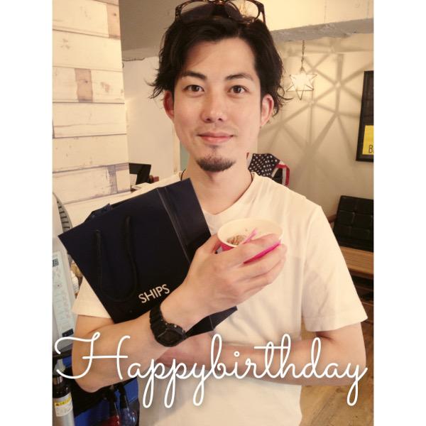 倉光さんの35歳のお誕生日でした!