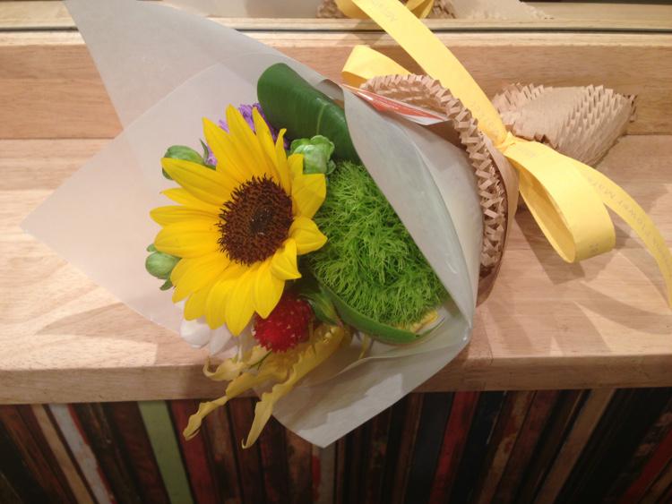 美容室の花